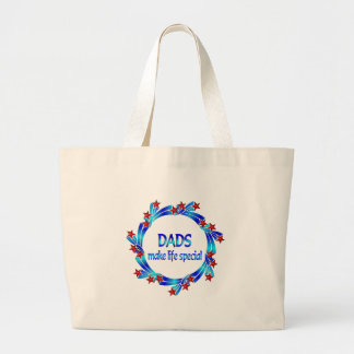 Dads Make Life Special Canvas Bags