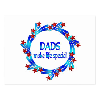 Dads Make Life Special Postcard