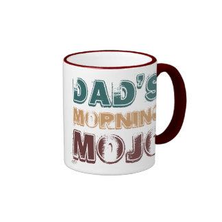 dad's morning mojo ringer mug