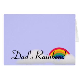 Dad's Rainbow!-Customize Card