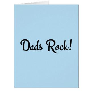 Dads Rock! Card