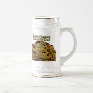 Dad's Rock-Solid White Beer Stein
