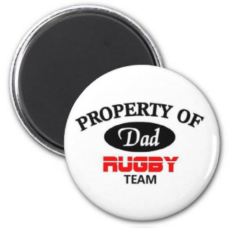 Dads rugby team magnet
