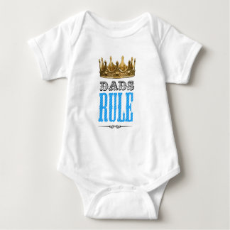 Dads RULE - Father´s Day Baby Bodysuit