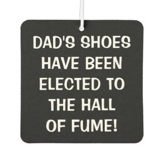 Dad's Shoes Elected to Hall of Fume Air Freshener