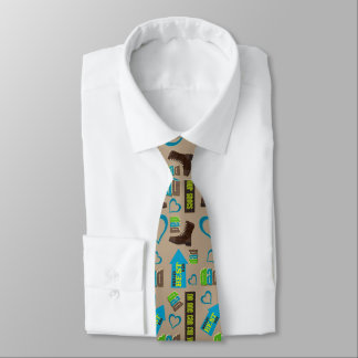 Dads Shoes Fathers Day Double Tie