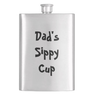 Dad's Sippy Cup Hip Flask