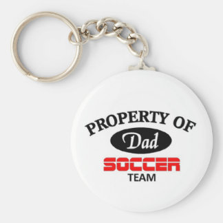 Dads soccer team key chains