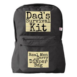 Dad's Survival Kit - Real Men Carry the Diaper Bag