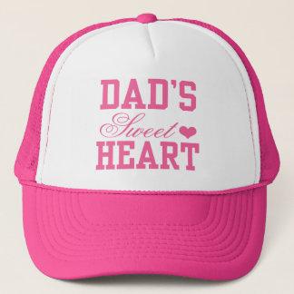 Dad's Sweetheart Trucker Hat