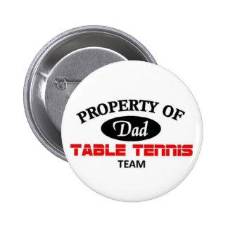Dads table tennis team pins
