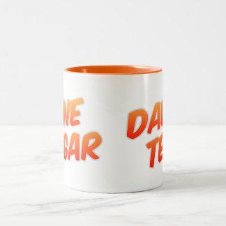 Dad's Tea One Sugar Two Tone Orange Mug