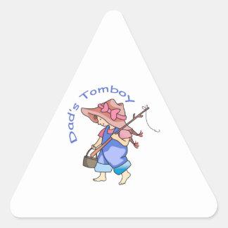 DADS TOMBOY TRIANGLE STICKER