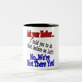 Dad's traveling shir Two-Tone coffee mug