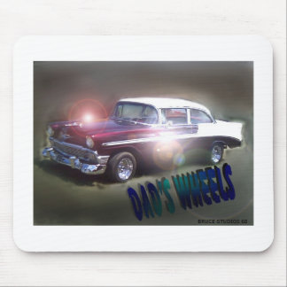 Dad's Wheels! Mouse Pad