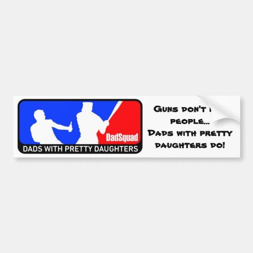 DadSquad Bumper Stickers