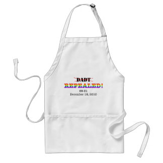 DADT Repealed! Adult Apron