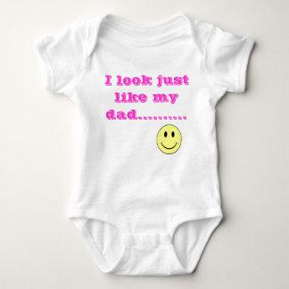 Dady's Little Girl Baby Bodysuit