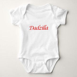 dadzilla baby bodysuit