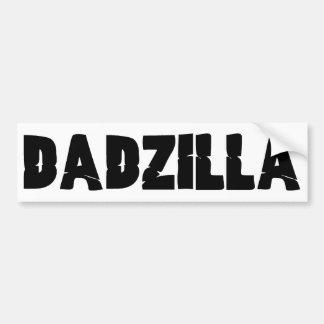 Dadzilla Car Bumper Sticker