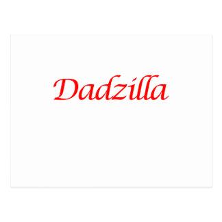 dadzilla postcard