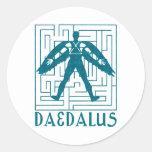 Daedalus Round Sticker