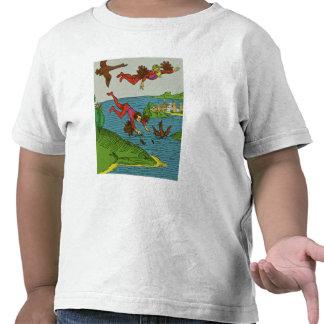 Daedalus y Ícaro, siglo XV Camisetas