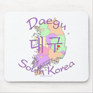 Daegu South Korea Mouse Pad