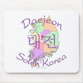 Daejeon South Korea Mouse Pad