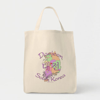 Daejeon South Korea Tote Bag