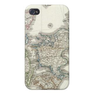 Daenemark Island - Denmark Iceland iPhone 4 Cases