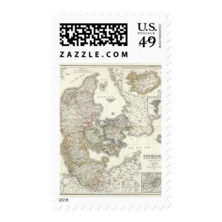 Daenemark, Island - Denmark, Iceland Postage Stamp