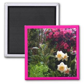 Daffodil Azalea Garden Magnet