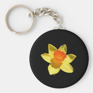 Daffodil (Background Removed) Keychains