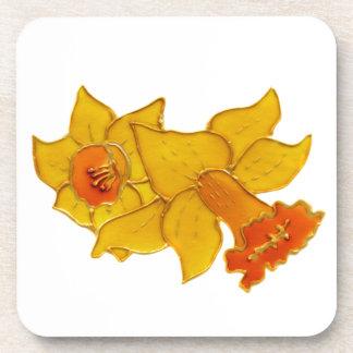 Daffodil Beverage Coaster