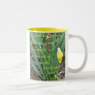 Daffodil Bloom Coffee Mug