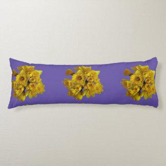 Daffodil body pillows. body pillow