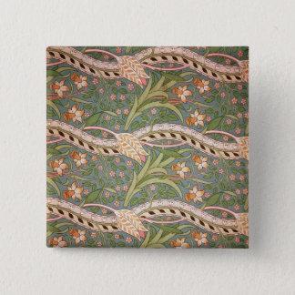 Daffodil Chintz', 1875 Pinback Button