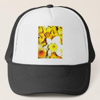 Daffodil Collage Trucker Hat