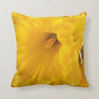 Daffodil cushion pillows