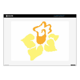 """Daffodil Decal For 15"""" Laptop"""