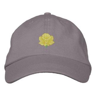 Daffodil Embroidered Baseball Cap