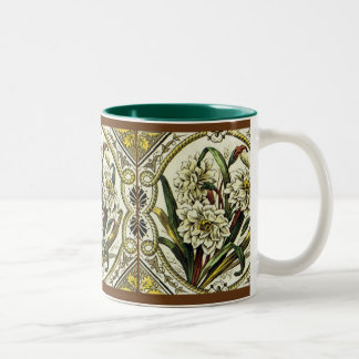 Daffodil Floral Art Coffee Mug