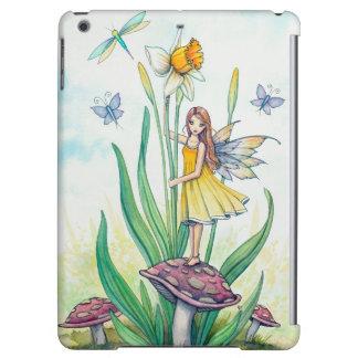 Daffodil Flower Fairy Fantasy Art Cover For iPad Air