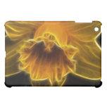 Daffodil Flower Fractal iPad Mini Covers