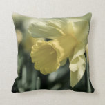 Daffodil Flower Photography Pillow