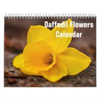 Daffodil Flowers Calendar