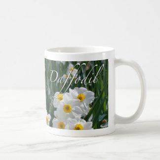 Daffodil Flowers Classic White Coffee Mug