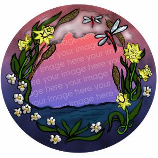 daffodil frame photo cutout