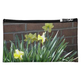 Daffodil Garden Cosmetic Bags